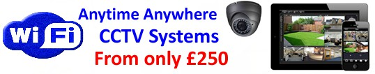 Anytime Anywhere CCTV Systems